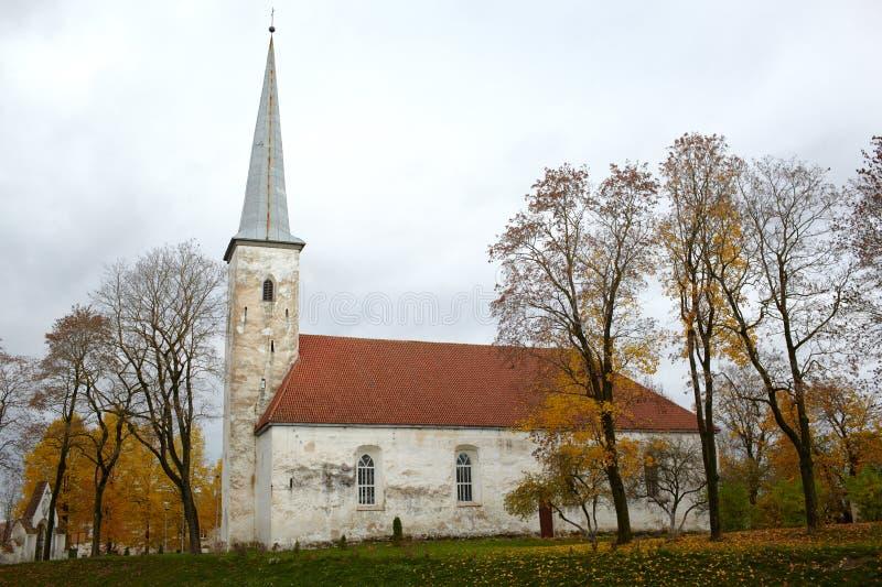 路德教会, Johvi,爱沙尼亚。 库存图片