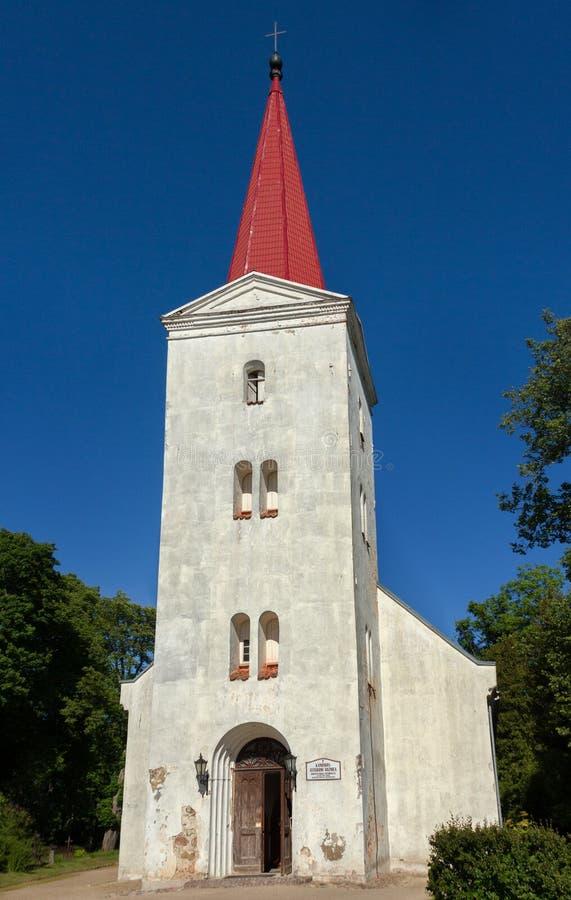 路德教会Fasade  图库摄影