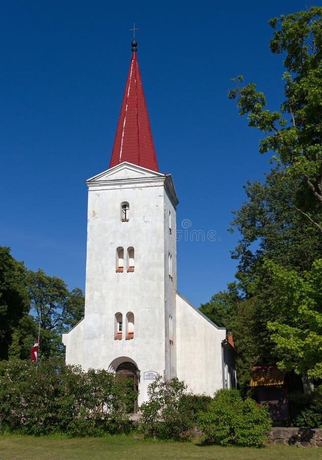 路德教会Fasade  库存图片