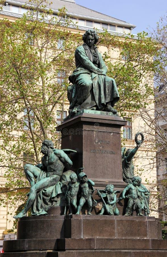 ��m#��'_路德维格范贝多芬,维也纳,奥地利雕象