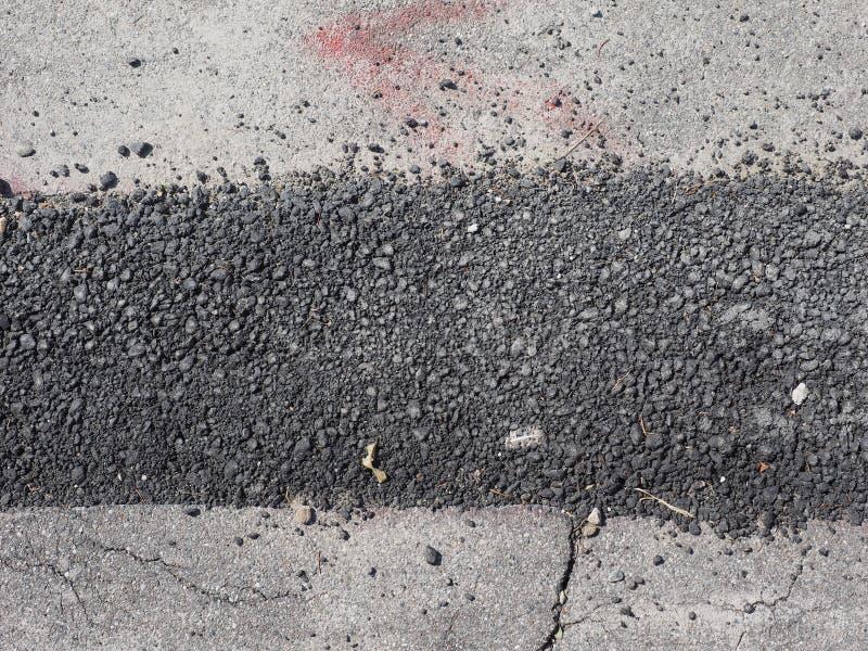 路挖掘为光纤运作 免版税库存图片