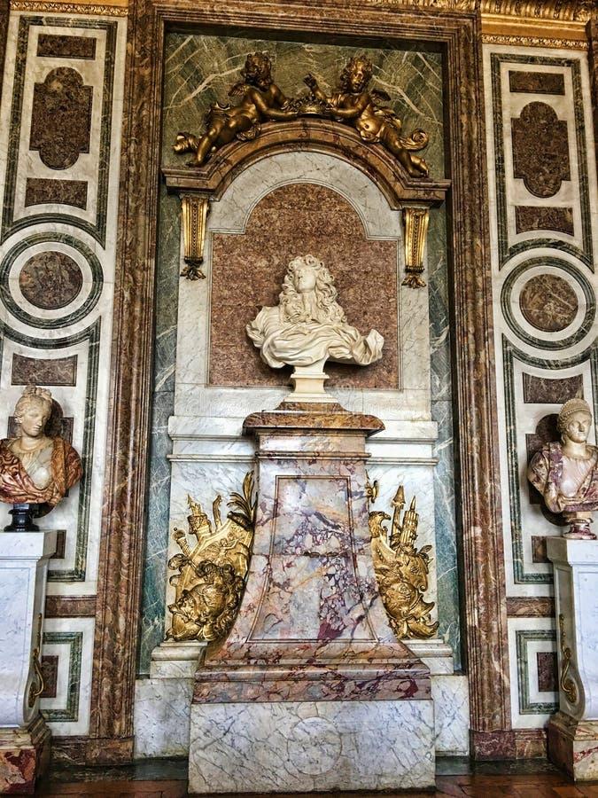 路易十四国王胸象 库存图片