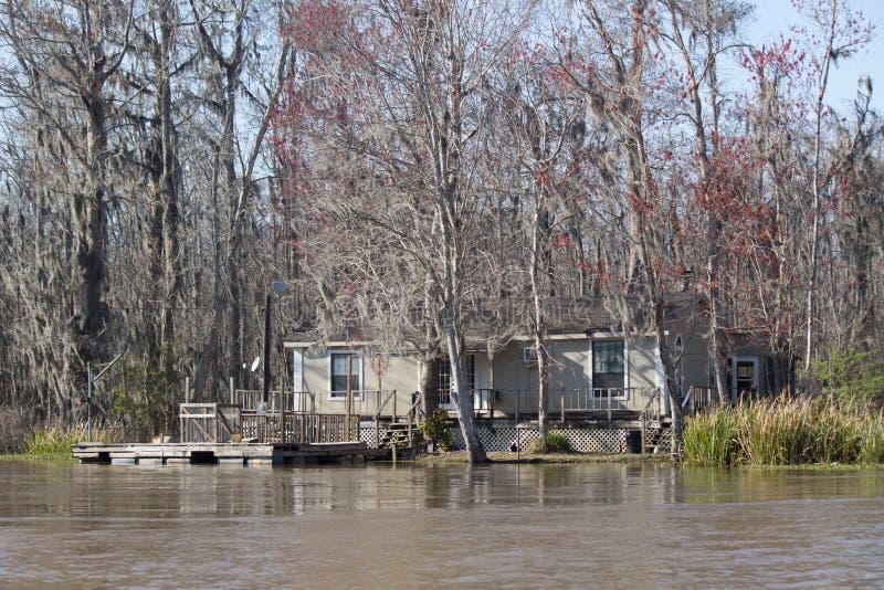 路易斯安那沼泽议院 免版税库存照片