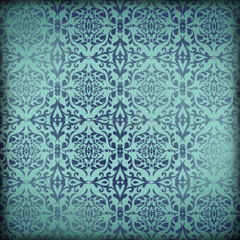 路易斯安那生活新奥尔良文化羊皮纸锦缎墙纸背景 皇族释放例证
