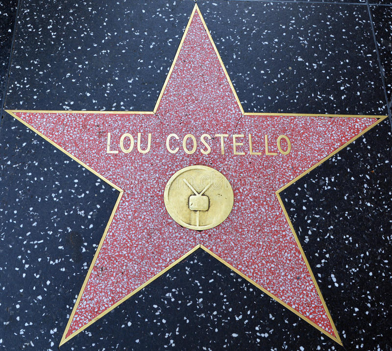 路易斯弗朗西斯`卢霍`叫作卢霍的Cristillo名望星步行柯斯特罗 库存图片