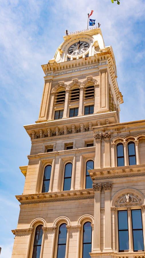 路易斯维尔政府大厦大厦-路易斯维尔,美国- 2019年6月14日 免版税库存照片