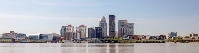 路易斯维尔都市风景 图库摄影