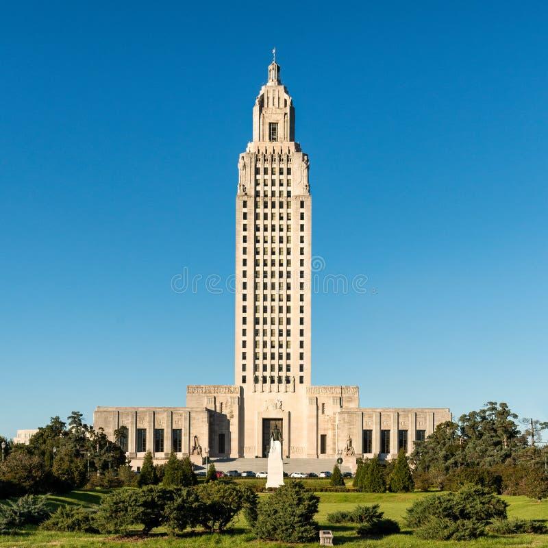 路易斯那州国会大厦 免版税库存照片