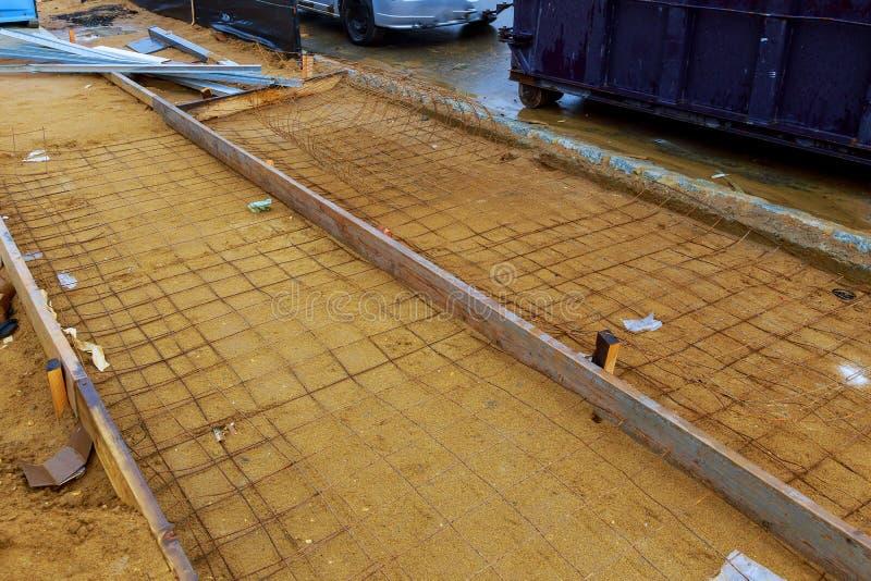 路栏杆船锚板材和增强 免版税库存照片