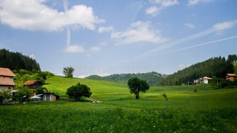路的保加利亚 库存照片
