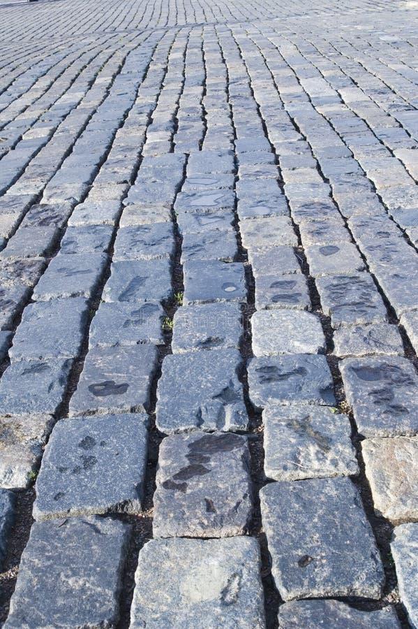 路石头 免版税库存照片