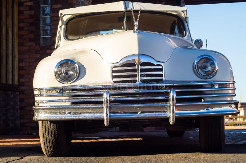 路线66装饰的看法在市塞利格曼在亚利桑那 库存照片