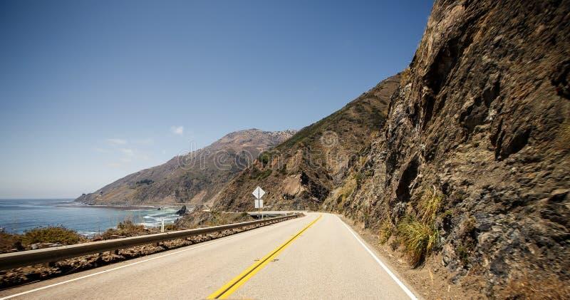 路线1,加利福尼亚 库存图片