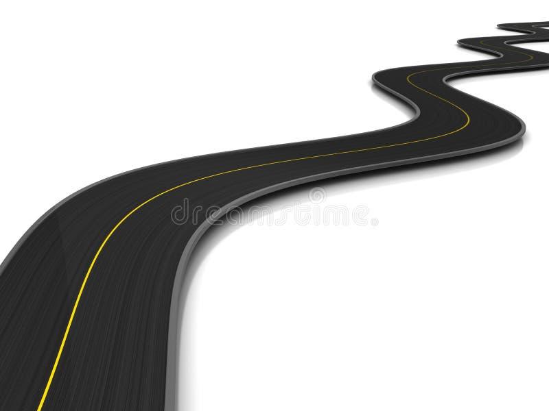 路 向量例证
