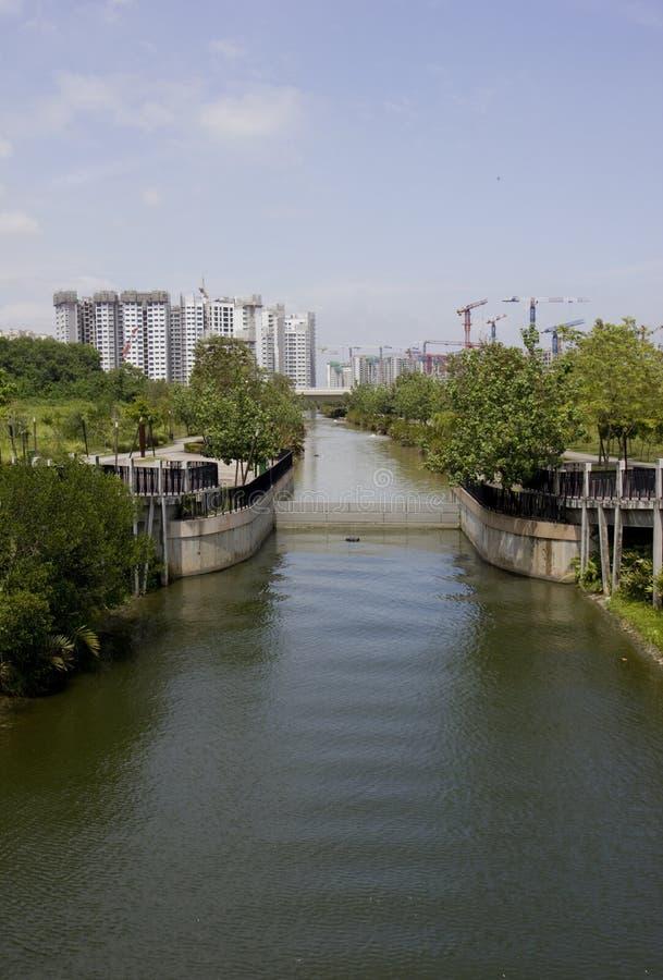 水路 免版税库存照片