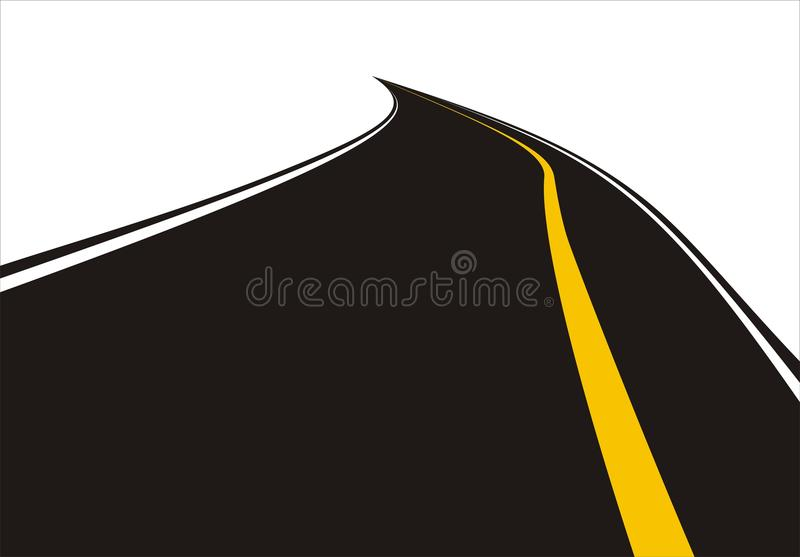 路vetor 免版税库存图片