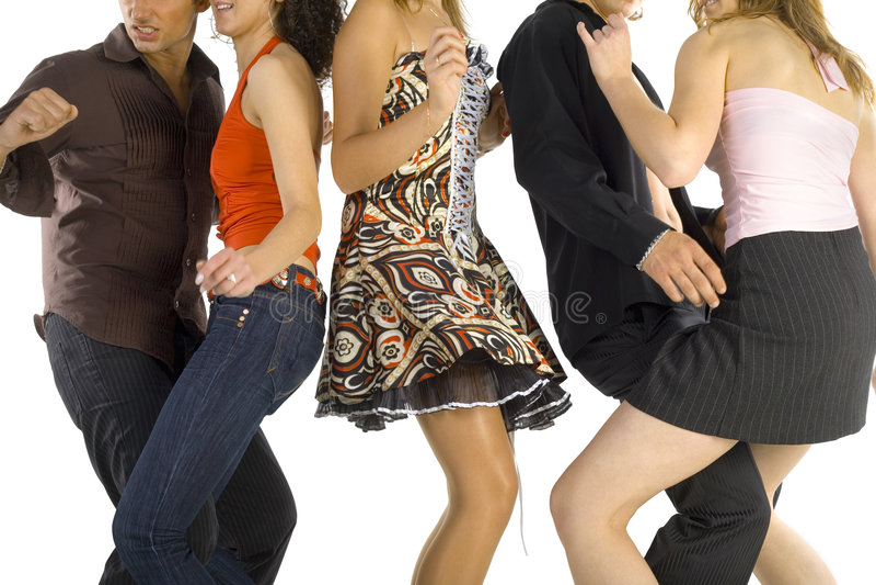 跳舞人 免版税图库摄影