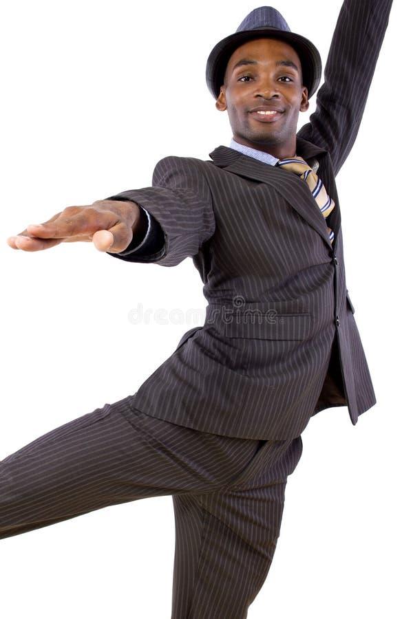 跳舞商人 库存图片