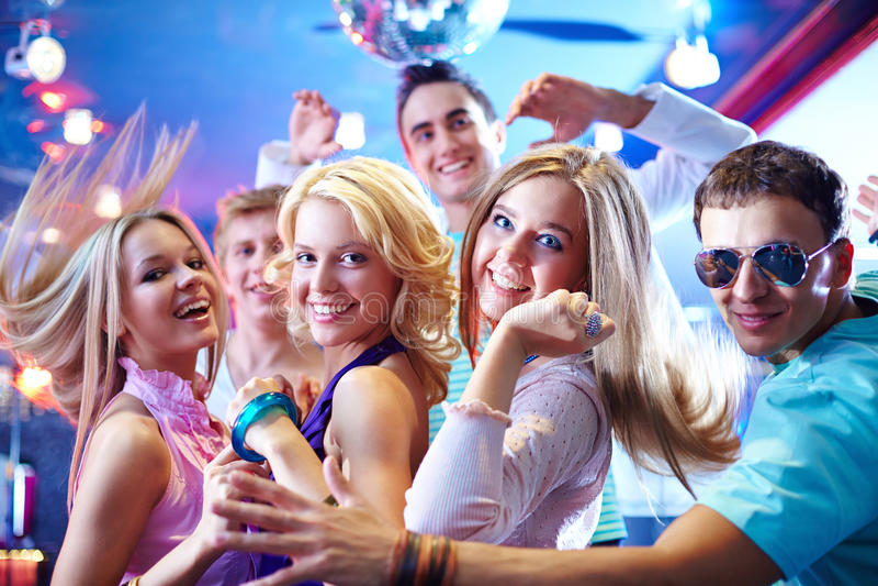 跳舞在党 免版税库存图片