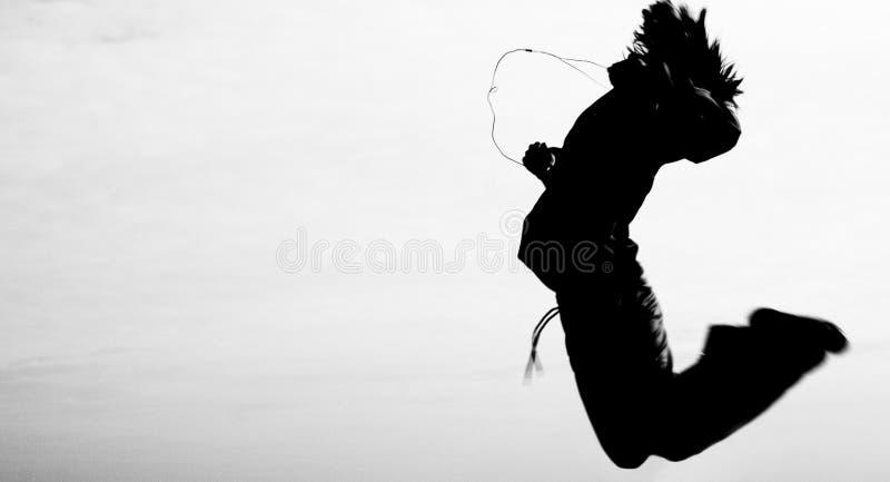 跳舞天空 库存图片