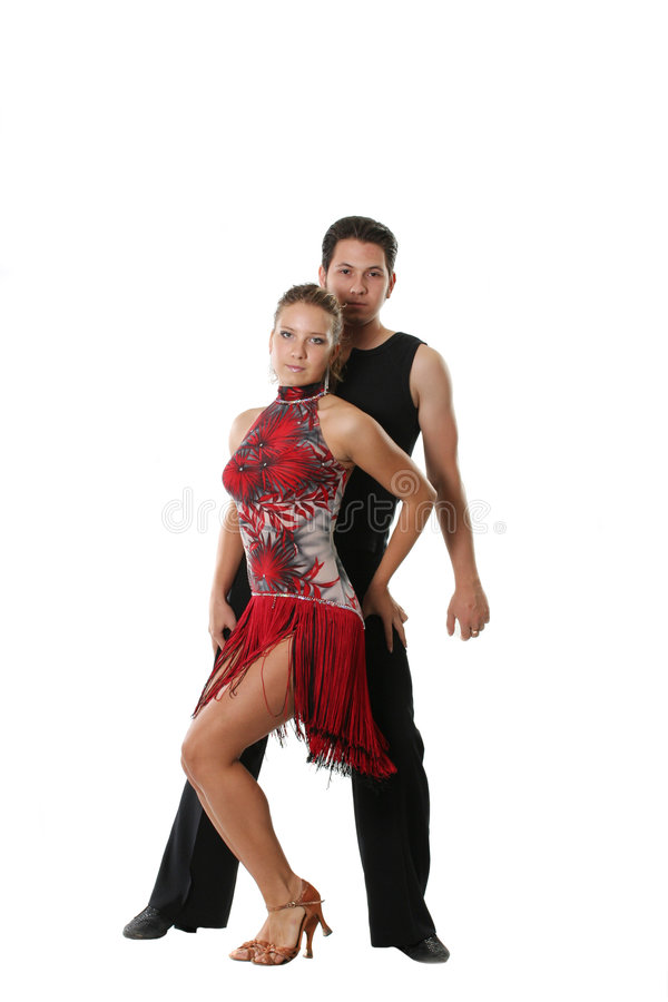 跳舞夫妇 库存照片