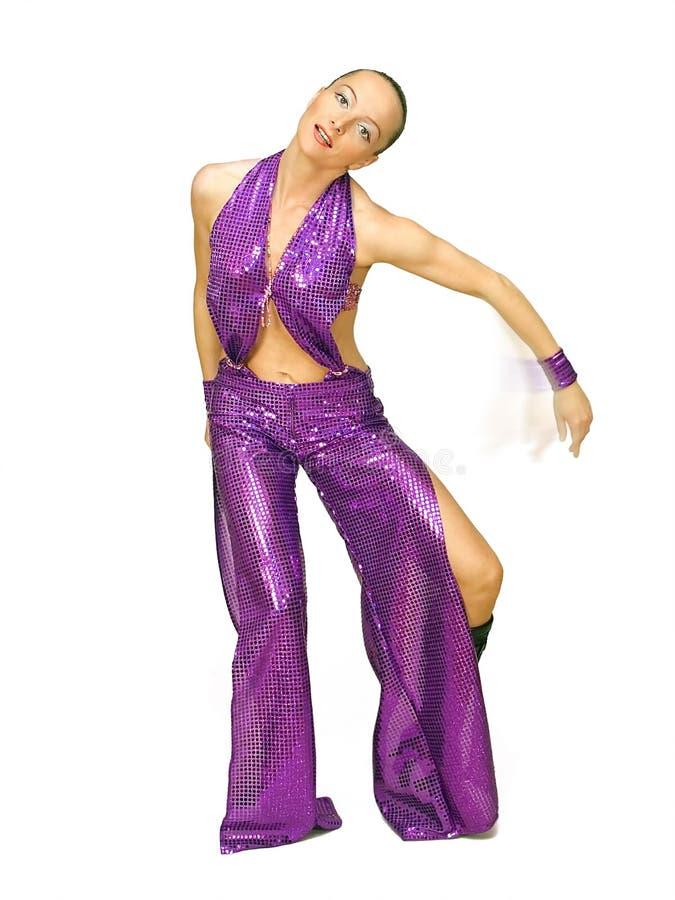 跳舞妇女 免版税库存照片