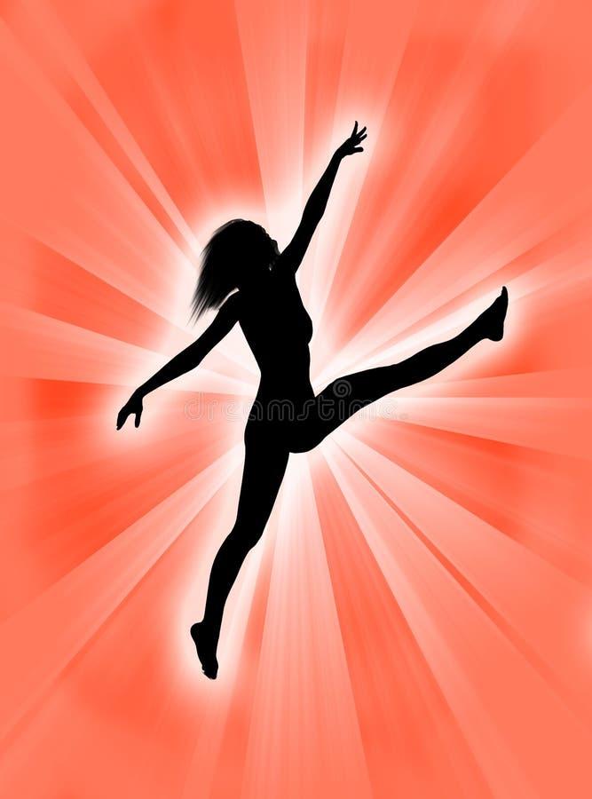 跳舞妇女 向量例证
