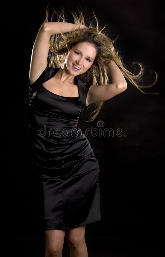 跳舞妇女 库存图片