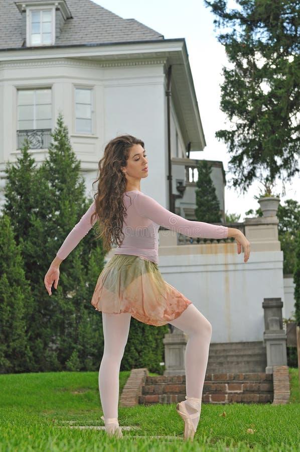 跳舞庭院 免版税库存图片