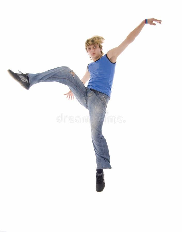 跳舞方式人现代年轻人 免版税库存图片