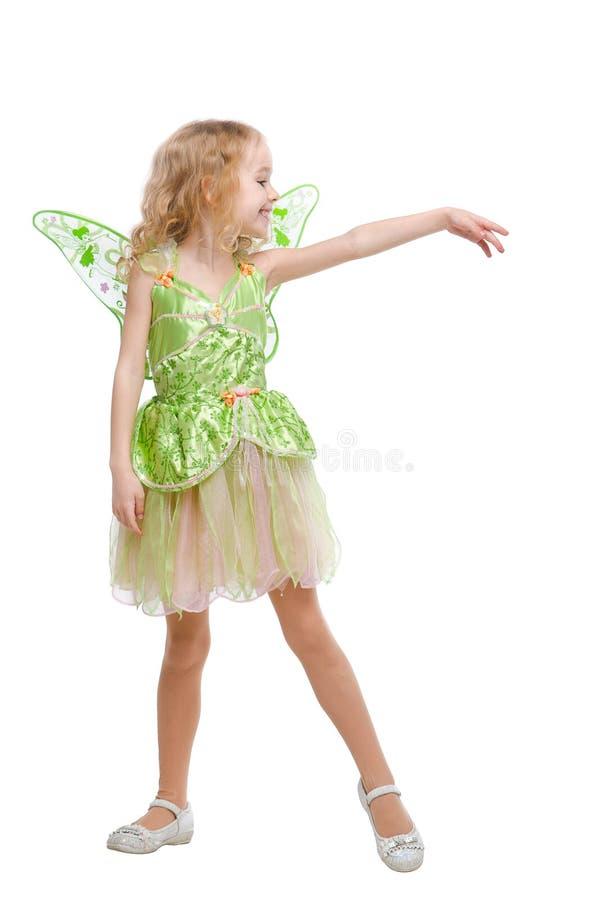 跳舞神仙女孩 库存图片