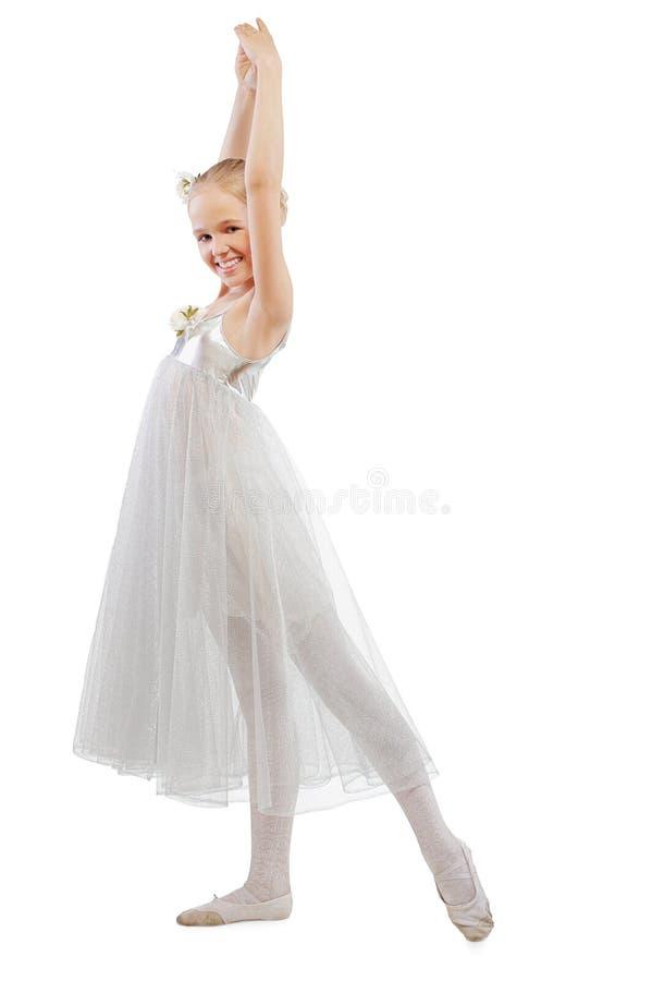 跳芭蕾舞者孩子 免版税库存照片