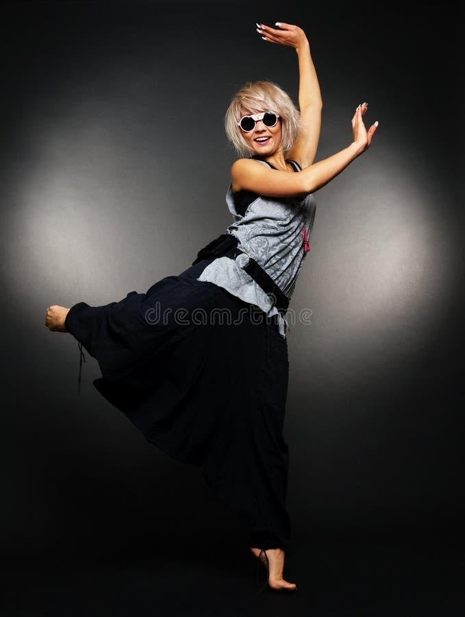 跳芭蕾舞者魅力 免版税库存照片