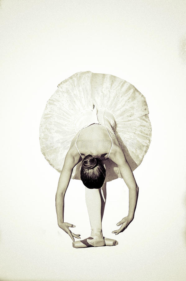 跳芭蕾舞者 库存照片