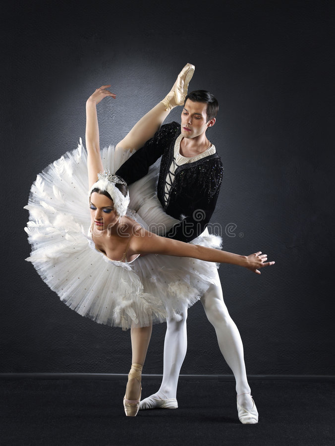 跳芭蕾舞者 免版税图库摄影
