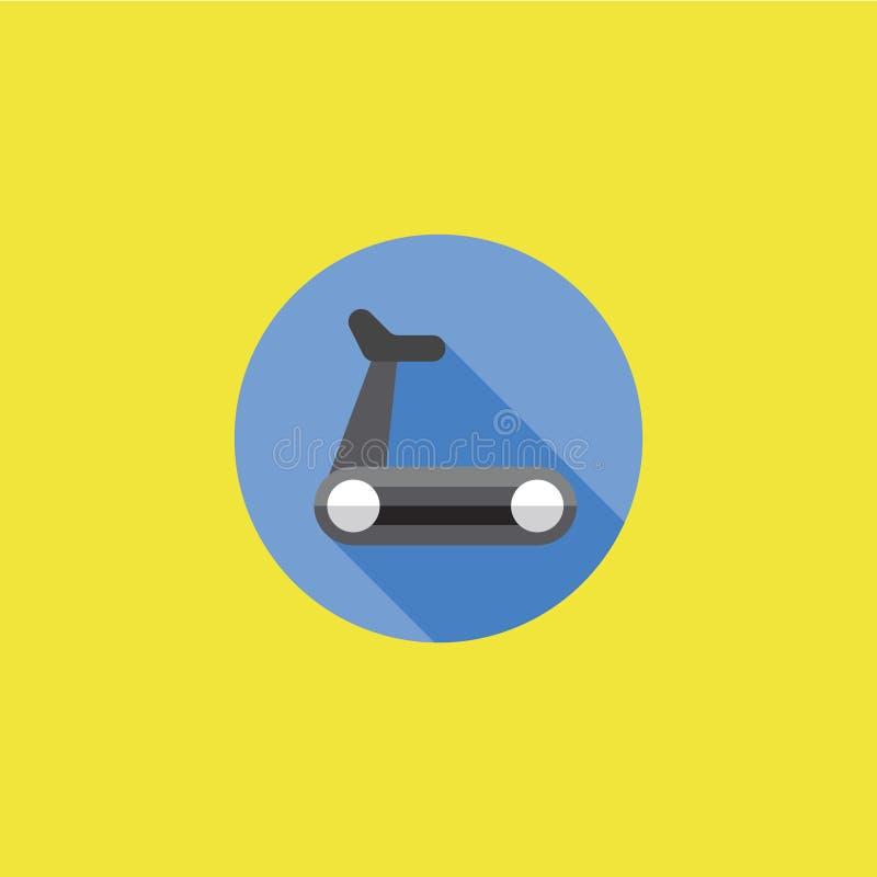 踏车象传染媒介例证 库存图片