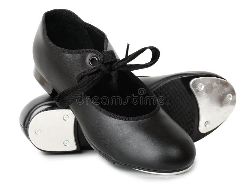 踢踏舞鞋子 免版税库存图片