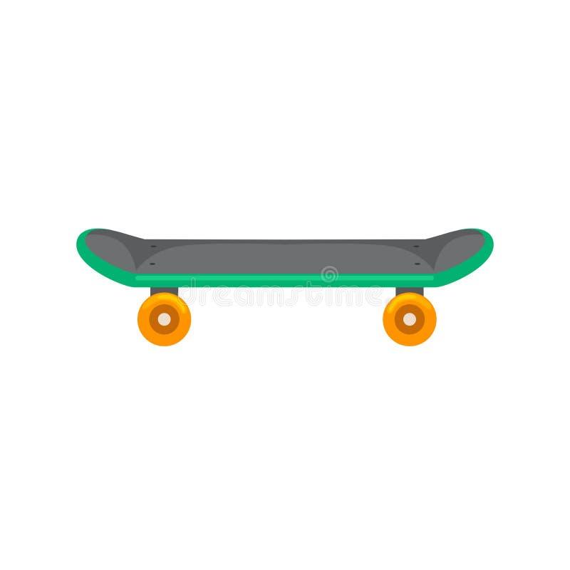 踩滑板与活跃生活方式的,青年活动的,平衡街道运输传染媒介极端体育轮子 库存例证