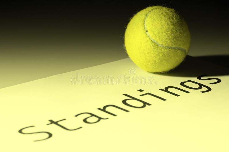 身分网球 免版税库存图片