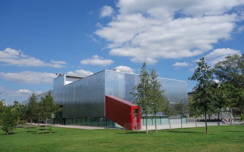 车库博物馆在莫斯科 免版税库存照片