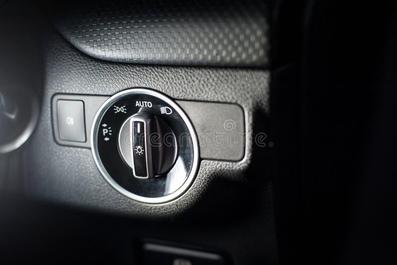 车灯的控制 库存图片