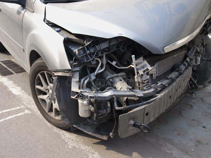 车祸 免版税图库摄影
