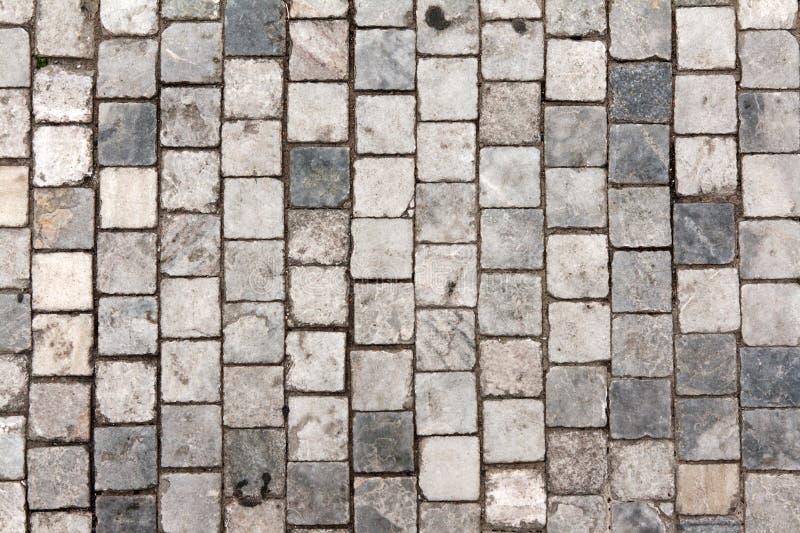 车行道石头 图库摄影