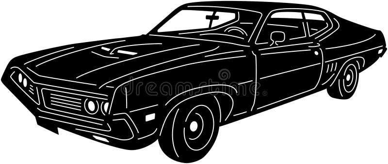 车详细09 向量例证