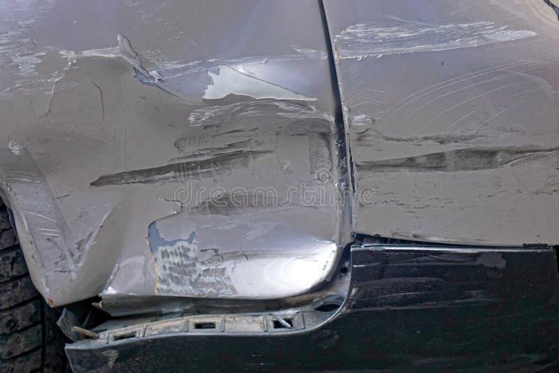 车身损伤 库存图片
