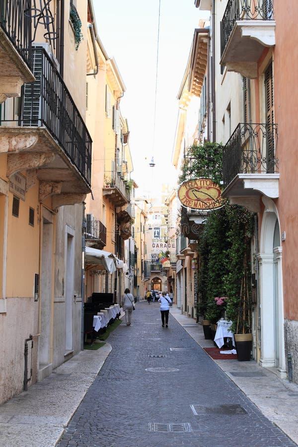 车道在维罗纳 免版税图库摄影