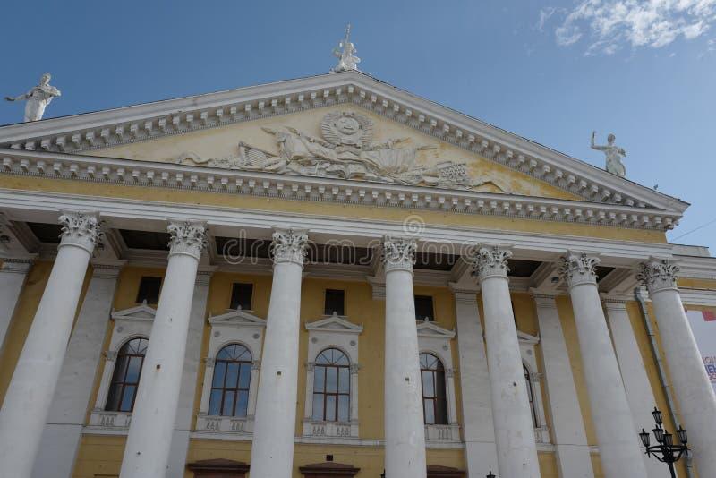 车里雅宾斯克状态学术歌剧和芭蕾舞团 M ? 格林卡 图库摄影