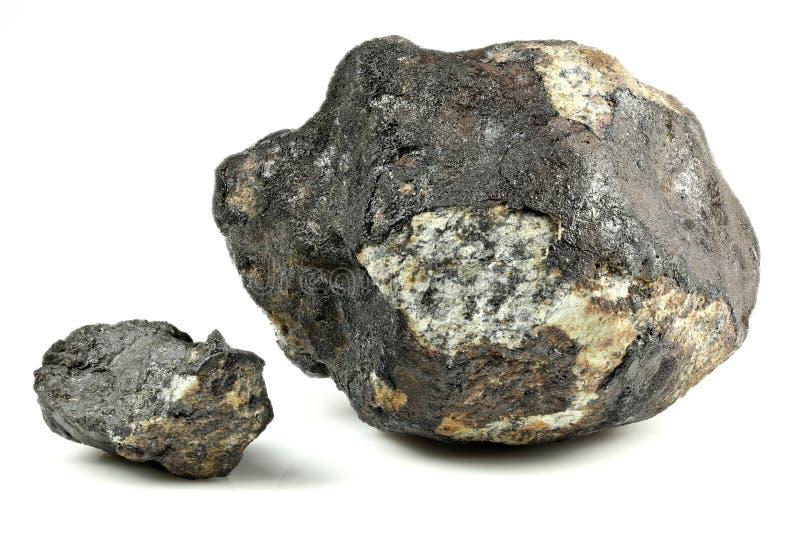 车里雅宾斯克陨石 库存图片