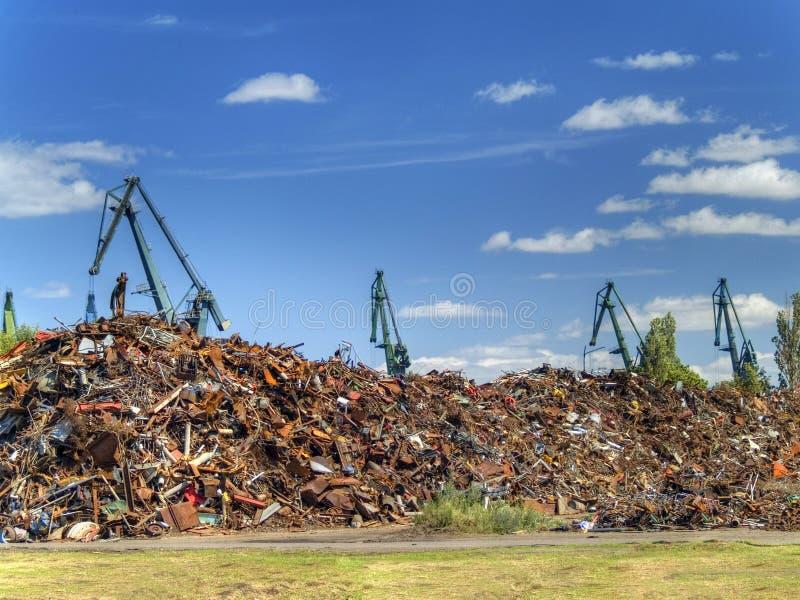 转储垃圾 免版税库存图片