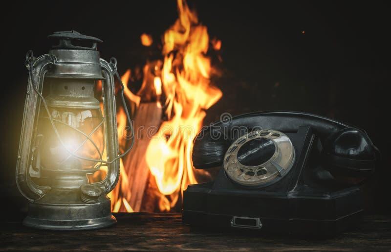 转台式电话 免版税图库摄影